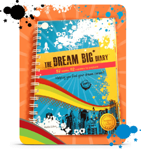 Dream Big Diary Career Guicance book